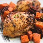 piletina, slatki krompir i maslinovo ulje