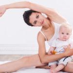 mama i beba vežbe