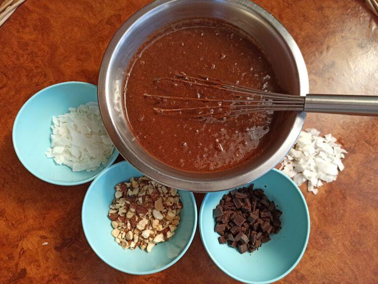 zdravi čokoladni banana mafin kako se pravi 1