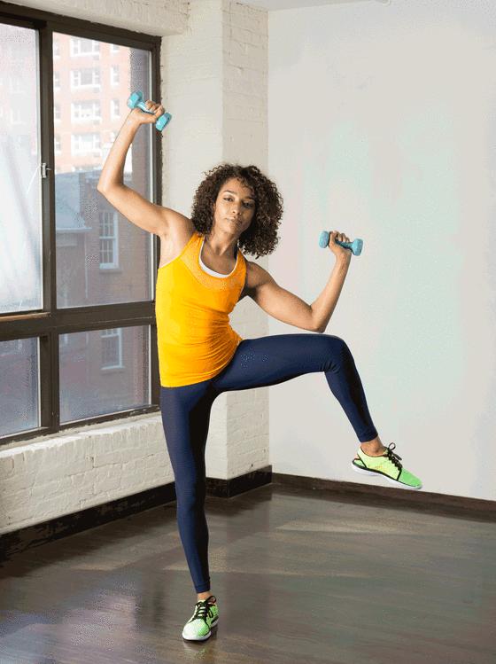 vežbe za stomak u stojećem položaju