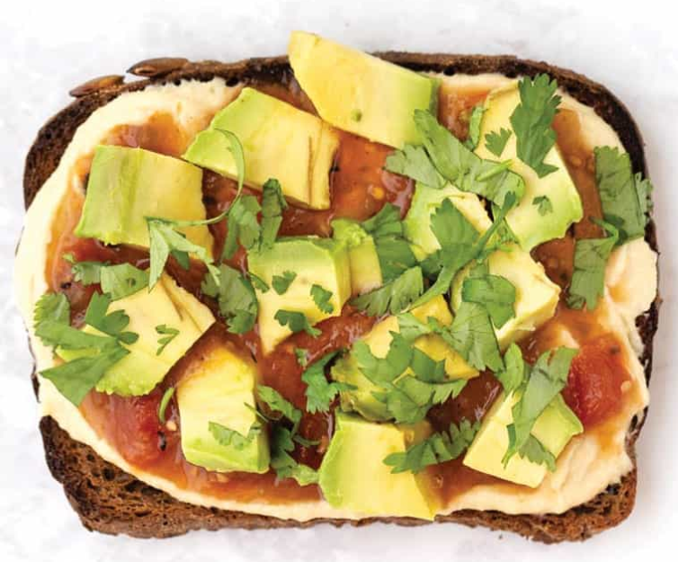 humus tost za doručak